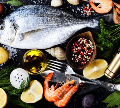 Varidades de pescado y marisco